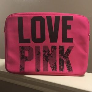 Victoria Secret Love Pink Laptop sleeve case